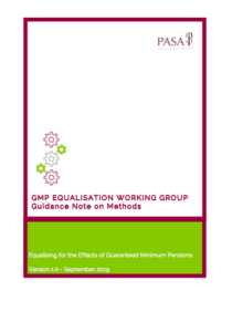 GMP Equalisation – The Pensions Administration Standards ...